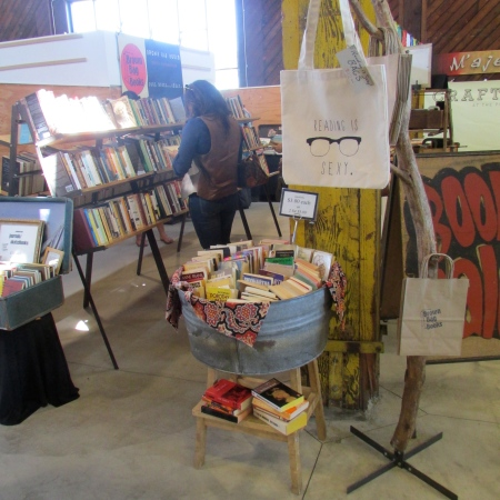 Crafted at the Port of LA! Memorial Day weekend, May 25th, 26th, & 27th. Red, White and Books! Come get your read on